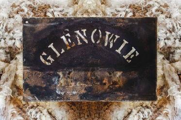 Glenowie Poll Merino Stud Wool Stencil